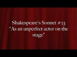 sonnet 23 analysis